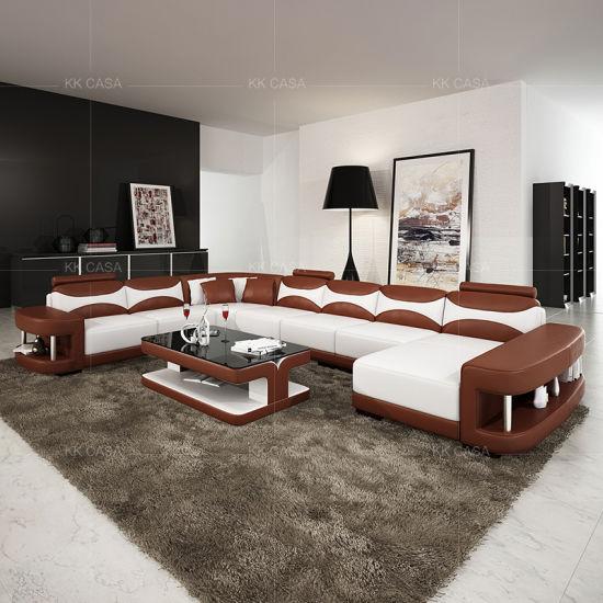 Chine Grande maison Salon meublé de canapés modernes de ...
