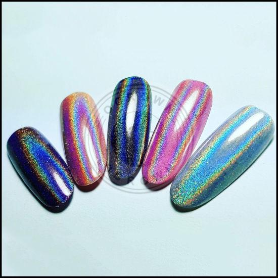 China El Azúcar En Polvo Glitter Uñas Holográfico De
