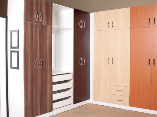 Amazing Almari Meubles design Chambre Armoire penderie armoire en bois de  dessins et modèles