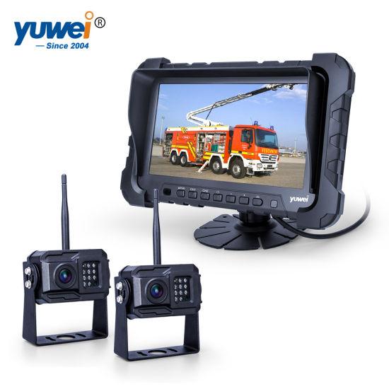 Cámara de visión trasera cable cámara cable de conexión tráiler remolque agricultura camiones