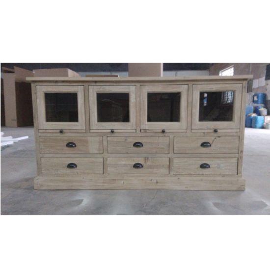 Muebles de cocina armario de madera aparador Buffet con cajones