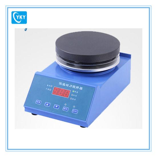 Miscelatore magnetico da laboratorio temperatura costante con piastra riscaldante da 220 V