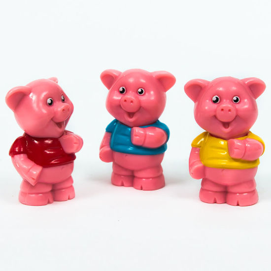 China Comercio Al Por Mayor Barato Plástico De Pvc Figuras De Animales De Juguete Piggy Comprar Juguetes En Es Made In China Com