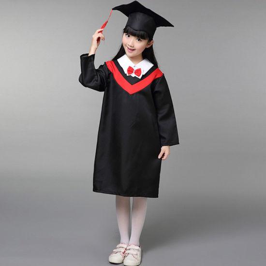 China Bebe Graduacion Negro Toga Y Birrete Para Ninos De Escuela