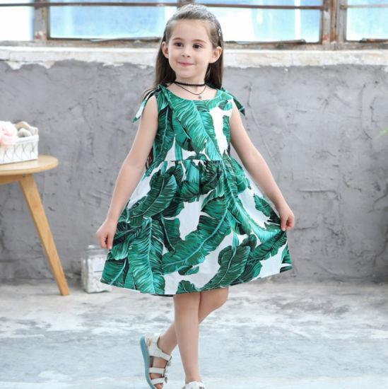 China Niña De Los Diseños De Vestidos Casuales Vestidos De