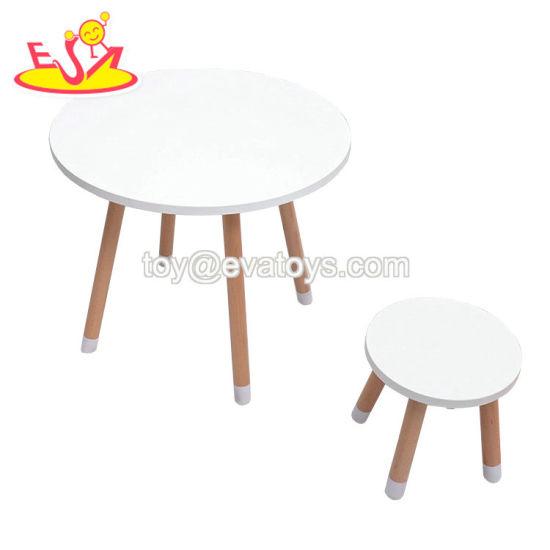 Los blanca China Mesa madera alta niños de de calidad 2WDYE9HI