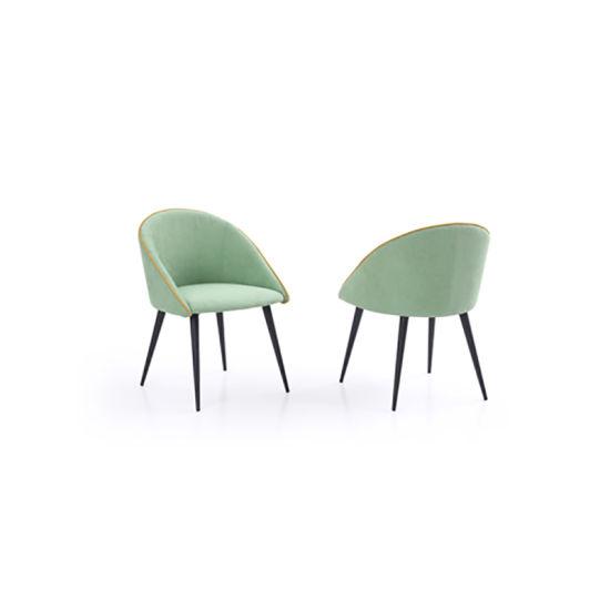 China El brazo de la cafetería de comedor tapizada silla