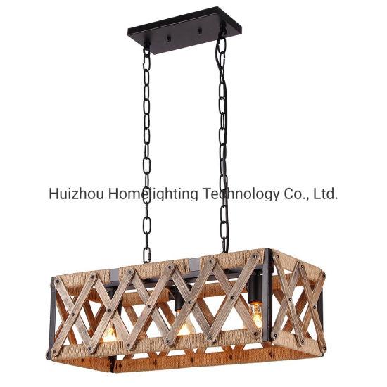 rústicos la China estilo de jaula de Jlc luz 4012 de retro E29WIYeDH