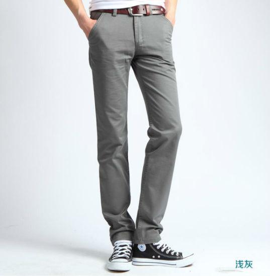China Nueva Moda De Alta Calidad De Los Hombres Pantalones De Pana Comprar Los Pantalones En Es Made In China Com