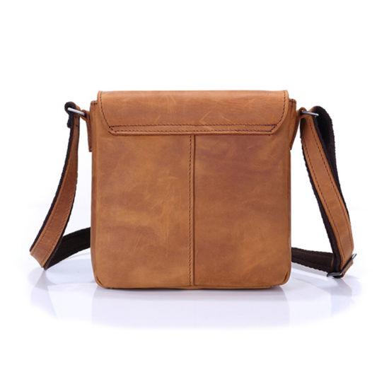 La Chine usine prix bon marché sac bandoulière en cuir sacs à main Sacoche en cuir pour hommes