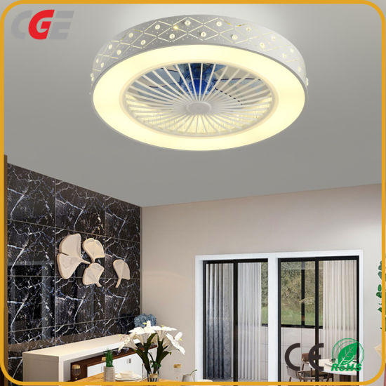 China Empotrada de techo ventiladores de techo LED de