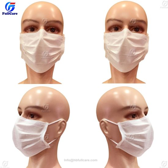 masque hopital blanc