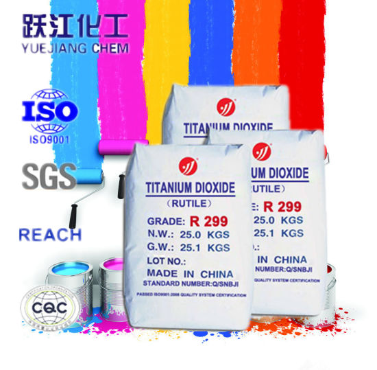 Latex paint titanium dioxide amount