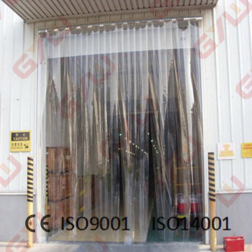 PVC rideau de porte pour chambre froide/congélateur
