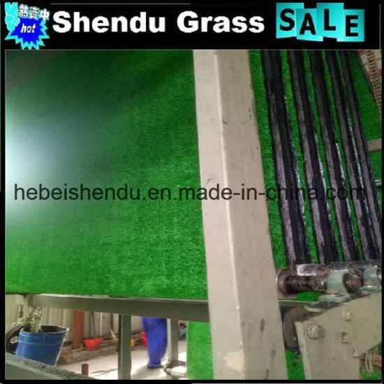 China El Color Verde De Césped Artificial Para La Terraza De