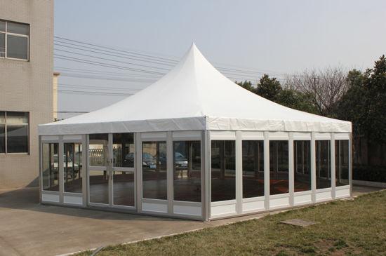 China Nuevo Diseño Emergente Toldo Terraza Jardín Cenador
