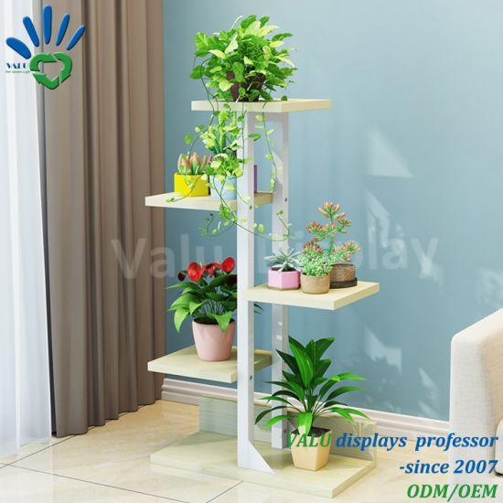 Peuplement de plantes de jardin en Métal Décoration étagères Flower Pot  Outdoor Indoor fer forgé