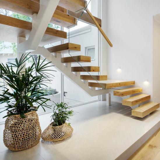 Chine Nouveau design moderne en verre balustrade escaliers ...