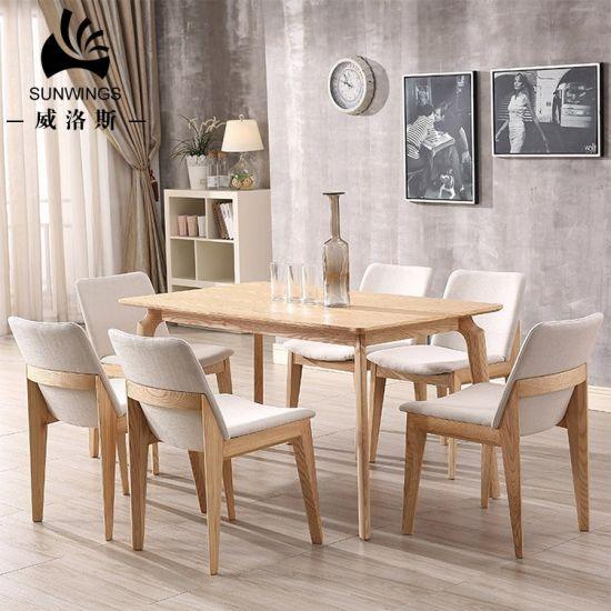 China Diseños modernos escandinavo Muebles de Comedor madera ...