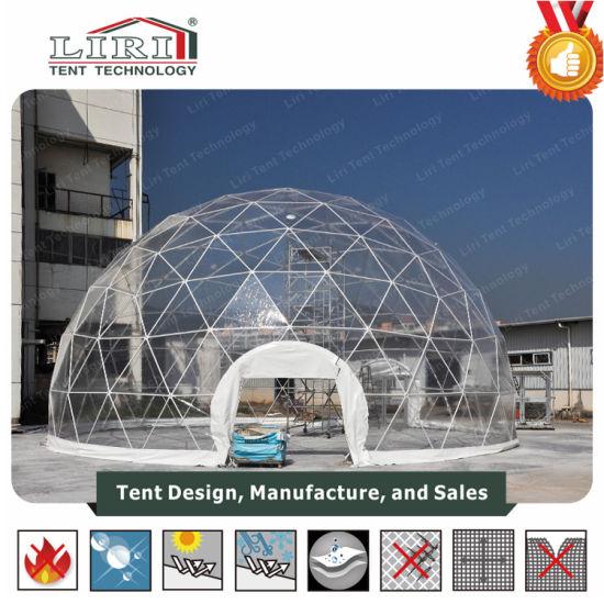 China Durchsichtiges Geodätische Dome Zelt für Partys und