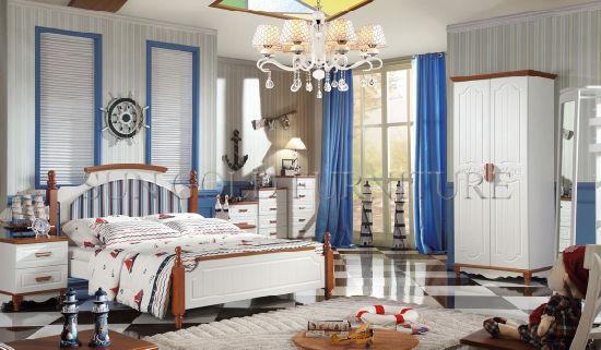 China Italienische Hauptmelamin-Kind-Bett-Schlafzimmer-Möbel ...