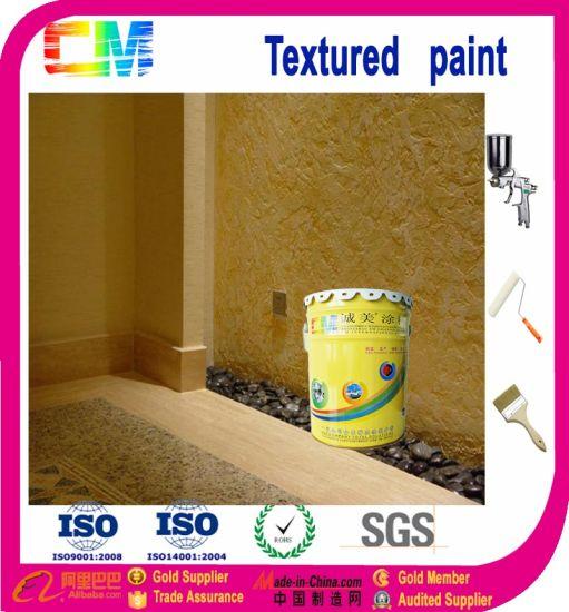 Chine Home Déco Peinture Texturée De L Intérieur D Effet De
