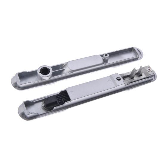 cerrojo para puerta aluminio