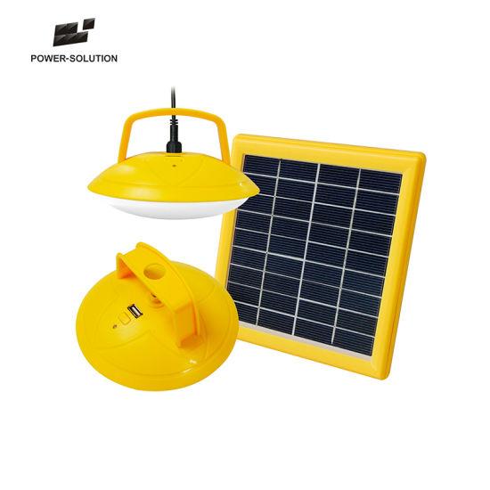 Sistemi Di Illuminazione Per Esterni.Sistema Di Illuminazione Solare Esterno Dell Abs Led Con 2 Lampade 1w