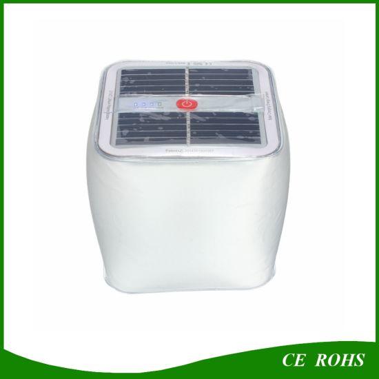 Chine Cube 10LED Lanterne solaire en PVC gonflable Lampe ...