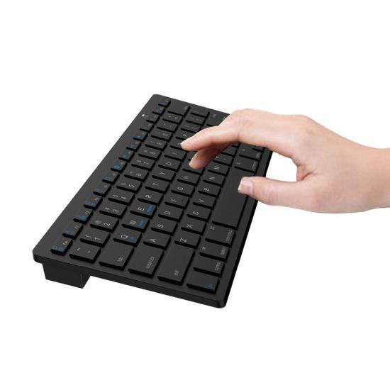 Commerce de gros Ultra Slim professionnels clavier Le clavier sans fil Bluetooth 3.0 Teclado pour Apple pour iPad série système IOS