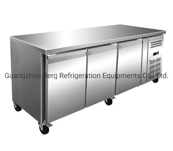 China acero inoxidable vajilla de cocina refrigerador 3
