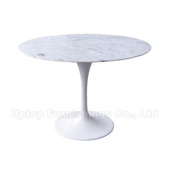 Tavolo In Marmo Bianco.Cina Tavola Tulipano In Marmo Bianco Carrara Eero Saarinen Sp