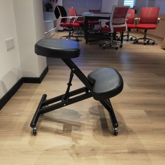 China PU Silla ergonómica de rodillas de altura regulable