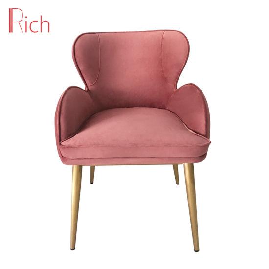 China Ocio moderno sillón silla de comedor Muebles de tela ...