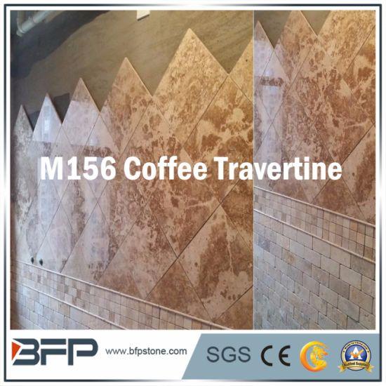 Chine Carrelage en marbre travertin en pierre naturelle pour ...