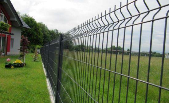 Bâti en métal recouvert de PVC le grillage de séparation de sécurité pour  le jardin (XMM-WM6)