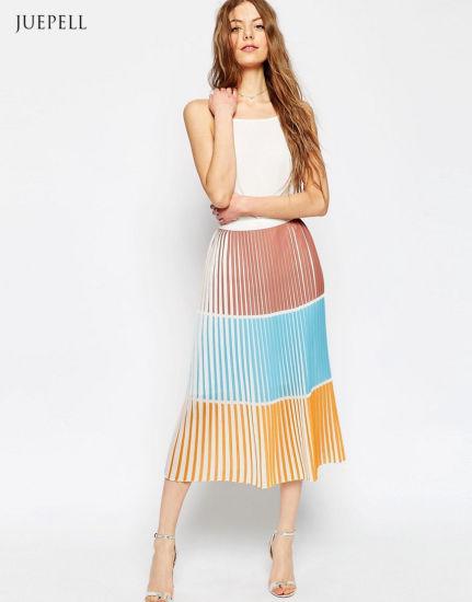 Chine Haut de la conception de la jupe de fantaisie dernière