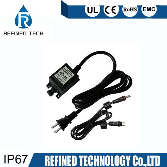 TRANSFORMATEUR 150W 12.5A 220V EN 12V WATERPROOF IP67 POUR ECLAIRAGE LED