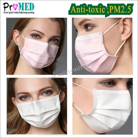 masque anti bacterien jetable
