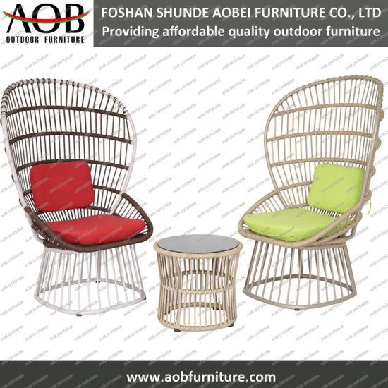 Chine Corde de mobilier de jardin moderne woven chaise haute ...