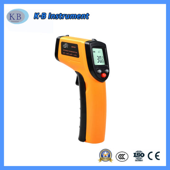 GM700 Thermomètre infrarouge numérique avec 12 : 1 Ratio Spot à distance
