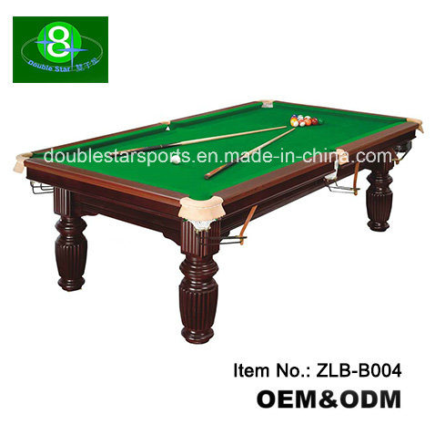 Chine 10FT La norme internationale MDF Table de billard ...