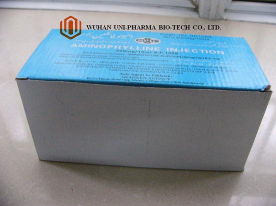 China La Aminofilina Hidratar 25 Mg Ml Solucion Inyectable