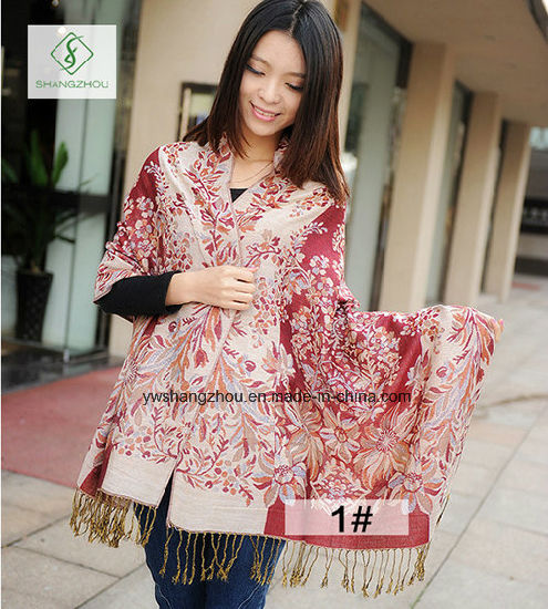 cristiandad Representación comerciante  China Última moda de dama chal Pashmina bufanda de Jacquard de estilo  étnico – Comprar Bufanda de Jacquard en es.made-in-china.com