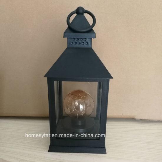 Lanterne à LED avec bougie ronde lampe pour décoration Maison et Jardin des  ornements