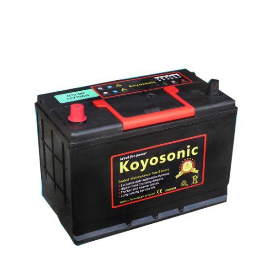 Le calcium de la batterie rechargeable 12V 45Ah Mf batterie de voiture automobile batterie