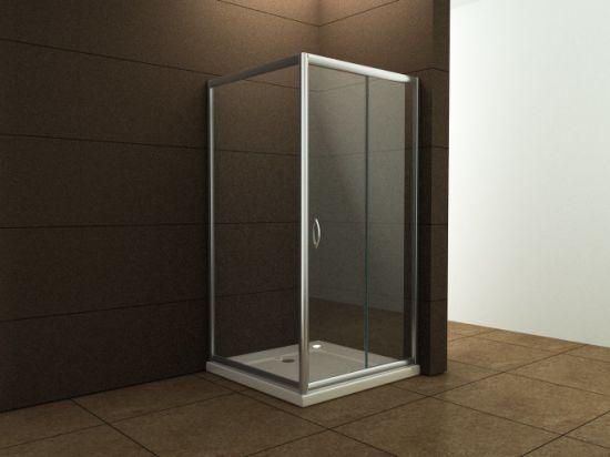 Chine Salle de bains modèle économique de 6 mm de la salle ...