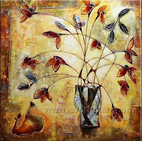 Photo Murale Moderne De L Huile De Fleurs Peinture Sur Toile Pour Décoration Murale1 098 Fl
