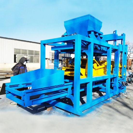 Chine Qtj4-40 bloc de béton de ciment de la machine