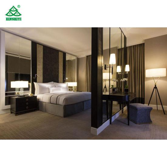 Chambre à coucher confortable hôtel design de mobilier contemporain en bois  Meubles de Jeux de l\'hospitalité